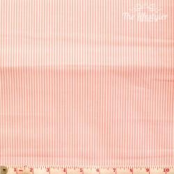 Westfalenstoffe - Rosenborg/Capri, woven tiny stripes pink/white